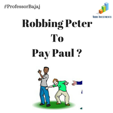 Robbing Peter To Pay Paul _