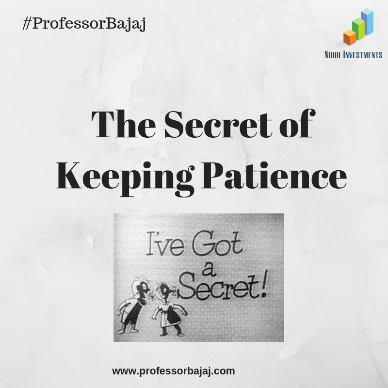 The Secret of Keeping Patience